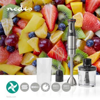 Mixer | 800 W | Acciaio Inox