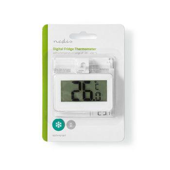 Koelkastthermometer | -20 - +50 °C | Digitaal Display