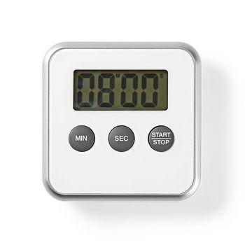 Kitchen Timer | Digital Display | White