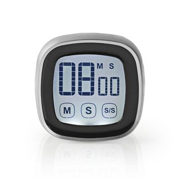 Kitchen Timer | Digital Display | Black