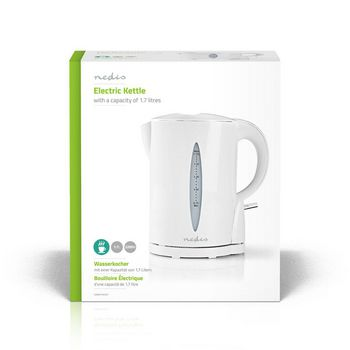 Electric Kettle | 1.7 L | White