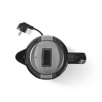 Electric Kettle   1.7 L   LED Light   Black
