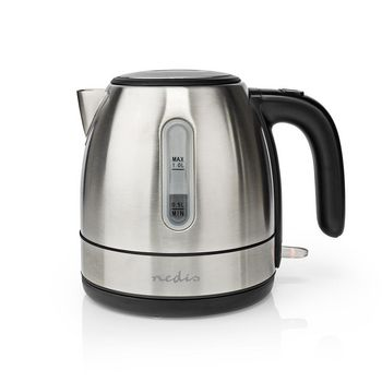 Electric Kettle | 1.0 l | Stainless Steel | Aluminium | Rotatable 360 degrees | Concealed heating element | Strix® controller | Boil-dry protection