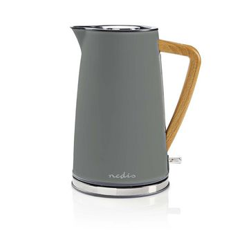 Electric Kettle | 1.7 L | Soft-Touch | Grey
