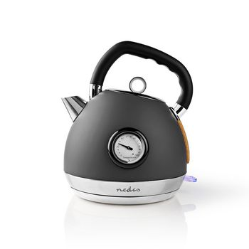 Electric Kettle | 1.8 L | Soft-Touch | Grey