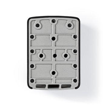 Boîte à Clés Sécurisée | Verrouillage par Combinaison | Alliage d'Aluminium