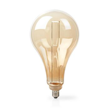 LED Filament Bulb E27 | PS165 | 3.5 W | 120 lm | 1800 K | With Gold Amber Finish | Retro Style | Number of lamps in packaging: 1