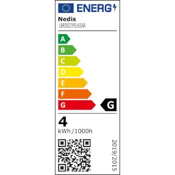 LED-Filamentlamp E27 | PS165 | 3.5 W | 120 lm | 1800 K | Goudkleurig | Retrostijl | Aantal lampen in verpakking: 1