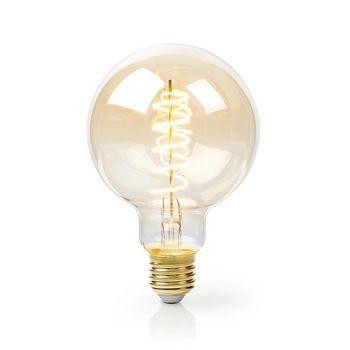 LED-Filament-Lampe E27 | G95 | 5 W | 250 lm | 2000 K | Mit Gold Finish | Anzahl der Lampen in der Verpackung: 1