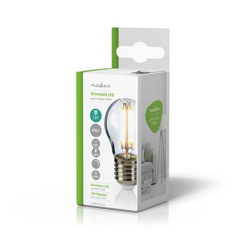 LED Retro Filament Lamp E27 | G45 | 4.8 W | 470 lm