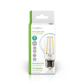Dimmable LED Retro Filament Lamp E27 | A60 | 5.4 W | 470 lm
