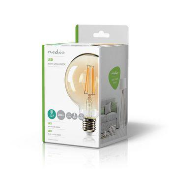 LED Retro Filament Lamp E27   G95   2.8 W   200 lm