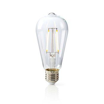 LED Retro Filament Lamp E27 | ST64 | 5.1 W | 470 lm
