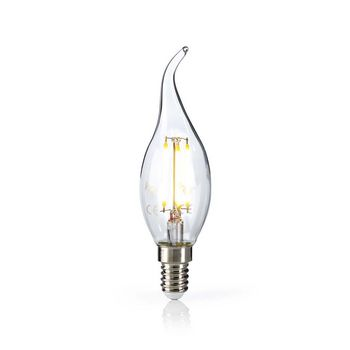 LED Retro Filament Lamp E14 | Candle Bent Tip | 4.8 W | 470 lm