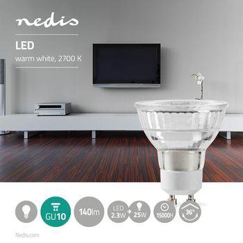 LED Lamp GU10 | Par 16 | 2.3 W | 140 lm