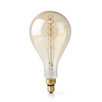 LED Filament Bulb E27 | A160 | 5 W | 280 lm | 2000 K | Warm White | Retro Style | Number of lamps in packaging: 1