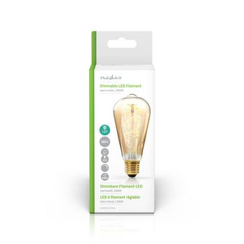 Dimmable LED Vintage Filament Lamp E27 | ST64 | 5 W | 260 lm