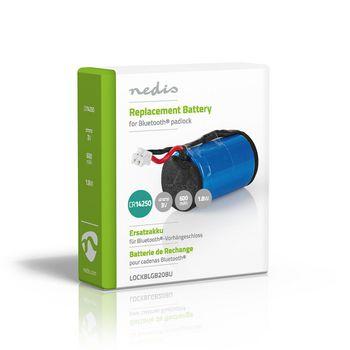 Padlock Replacement Battery | 3 V DC | 600 mAh