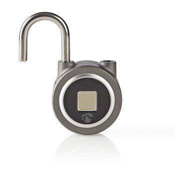 Bluetooth Padlock | Fingerprint unlock | Rechargeable | Metal