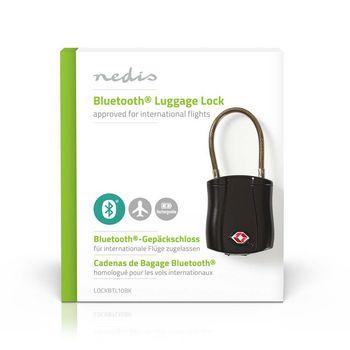 Bluetooth Luggage Lock | Keyless Operation | TSA Lock | Tracking | Rechargeable