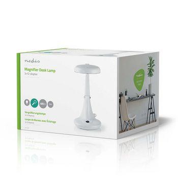 Magnifier Table Lamp | 12 W | 6400 K | White