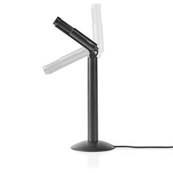 Wired Microphone | Stand | Adjustable Angle | 3.5 mm