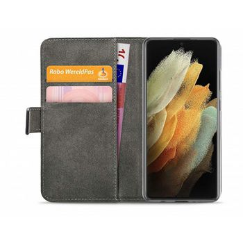 Classic Gelly Wallet Book Case Samsung Galaxy S21 Ultra Black |