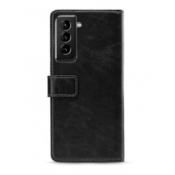 Elite Soft Wallet Book Case Samsung Galaxy S21+ Black |