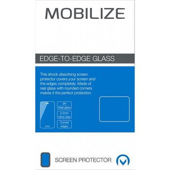Edge-To-Edge Glass Screen Protector Samsung Galaxy S21+ Black Full/Edge Glue