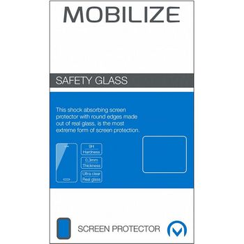 Glass Screen Protector - Black Frame - Samsung Galaxy S21