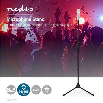 Microphone Stand | Max 1 kg | Black