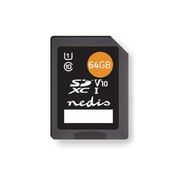 Memory Card | SDXC | 64 GB | Writing up to 80 Mbps | Class 10