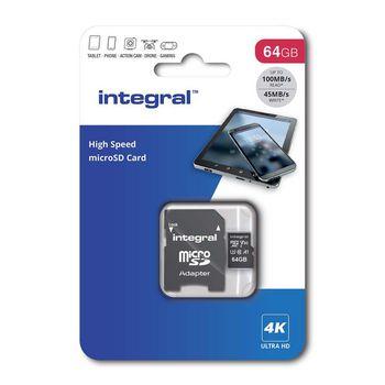 64GB SDXC V30 - 100MB/s Read - 45MB/s Write |