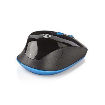 Souris Sans Fil avec Dongle Nano   Six boutons   Noir/Bleu