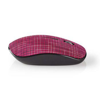 Trådløs mus | 1600 DPI | 3 knapper | Pink