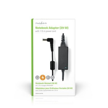 Notebook Adapter 39 W | 6.5 x 4.4 mm centre pin | 19.5 V / 2 A | Used for SONY | Power Cord Included