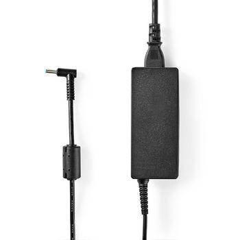 Notebook-Adapter 65 W | 4,5 x 3,0 mm Centrale Pin | 19,5 V / 3,33 A | Geschikt voor HP | Incl. Voedingskabel