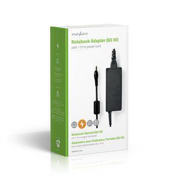 Adaptador para Portátil de 65 W | 5,5 x 1,7 mm | 19 V/3,42 A | Utilizado para ACER | Cable de Alimentación Incluido