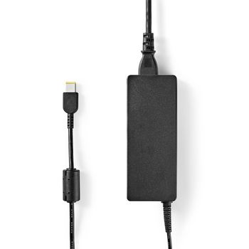 Notebook Adapter 90 W | Lenovo Square 11 x 5.6 mm | 20 V / 4.5 A | Used for LENOVO | Power Cord Included