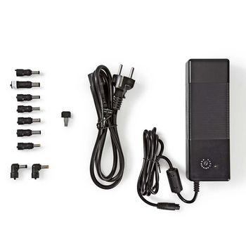 Notebook Adapter | Universal 9 tips & USB | 150 W | Output 12V-24V