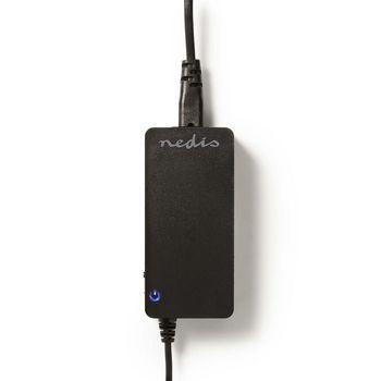 Notebook Adapter | Universal 10 tips | 90 W | Output 15V-19,5V