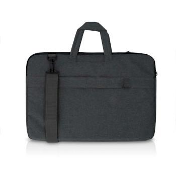 Laptoptas | Schouderriem | 8 Opbergvakken | 17 - 18 inch | Zwart