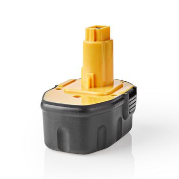 Power Tool Battery | Ni-MH | 14.4 V | 3.3 Ah | 47.52 Wh | Replacement for Dewalt
