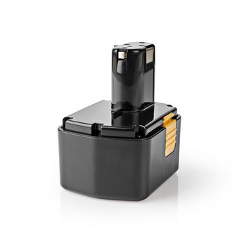Power Tool Battery   Ni-MH   14.4 V   3.3 Ah   47.52 Wh   Replacement for Hitachi