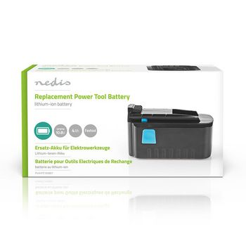 Power Tool Battery | Li-Ion | 10.8 V | 4 Ah | 43.2 Wh | Replacement for Festool