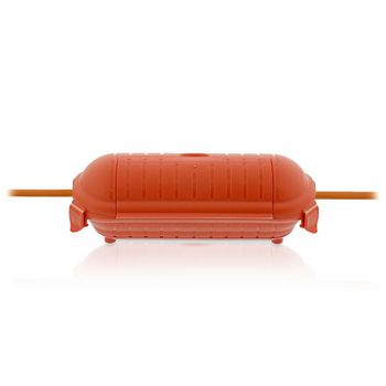 Stekkerbox | IP44 | Oranje