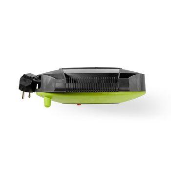 Kabeltromle | 10,0 m | 3 x 1,5 mm² | Termisk sikkerhedsfrakobling | Schuko og USB