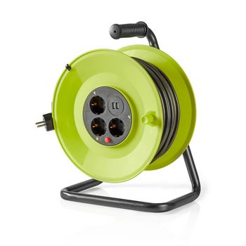 Cable Reel | 50.0 m | 3x 1.5 mm² | Thermal Cutoff | Schuko & USB