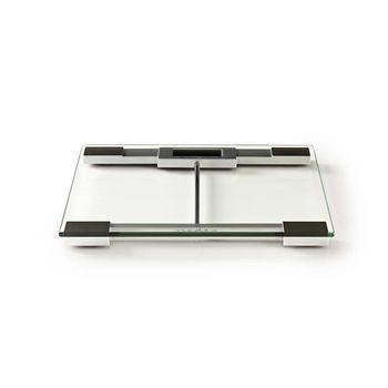 Personvekt, digital | Herdet glass