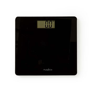 Personal Scales Digital | Tempered Glass | Black
